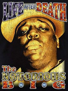 "The Notorious B.I.G. ""LIFE AFTER DEATH"" Vintage Style Official T-Shirt"