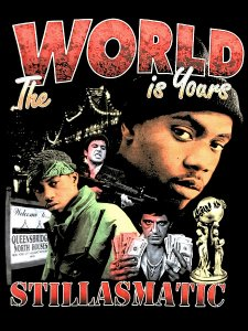 "Stillas x essense ""The World Is Yours"" T-Shirt"