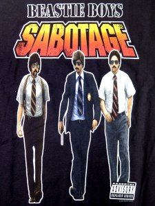 "Beastie Boys ""Sabotage"" Official T-Shirt"
