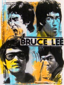 "Bruce Lee ""Faces"" Official T-Shirt"