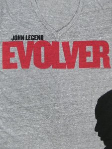 JOHN LEGEND EVOLVER PREMIUM V-NECK T-SHI