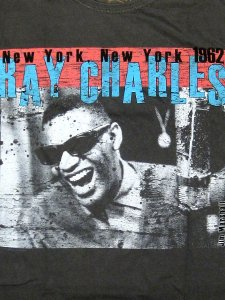 "Ray Charles ""1962 New York LIVE"" T-shirt"