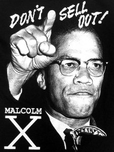"Malcolm X ""Don't Sell Out"" Tee"