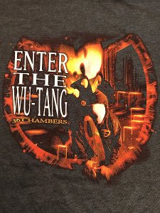 "WU-TANG CLAN ""The 36 Chambers Enter The WU"" T-Shirt"