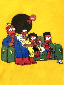 """African Bart Family"" T-Shirt"