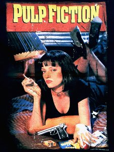 "Pulp Fiction ""Vintage Poster Art"" Official T-Shirt"
