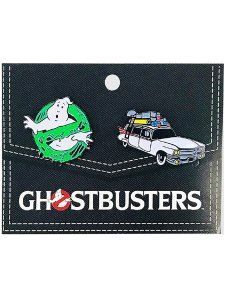 GHOSTBUSTERS 2-PACK ENAMEL PINS