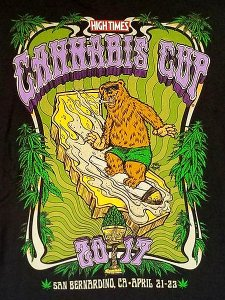 "High Times ""Cannabis Cup '17 Bear"" T-Shirt"