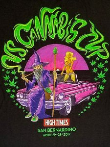 "High Times ""Cannabis Cup '17 Wizard"" T-Shirt"