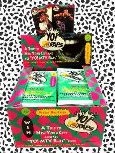 YO! MTV RAPS TRADING CARD Series 1