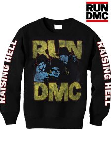 "Run DMC ""Raising Hell"" Vintage Style Crew Sweat"