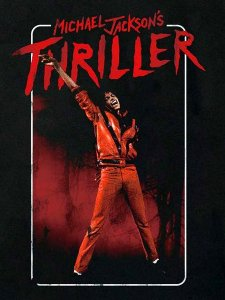 "Michael Jackson ""Thriller"" Official T-Shirt"