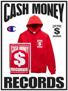 Cash Money Records Official Limited Pullover Hoodie