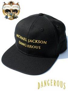 """Michael Jackson """"Dangerous"""" 追悼10周年 Official Cap"""