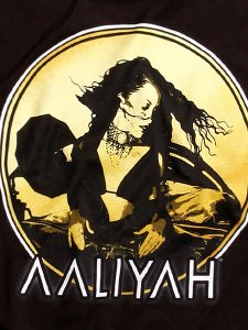 "Aaliyah ""R.I.P. Photo"" Official T-Shirt"