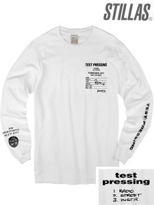 "Stillas x Test Pressing ""Promo Remix"" L/S T-Shirt"