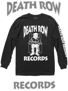 Death Row Records Classic Logo Official LS T-Shirt