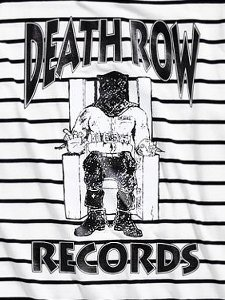 Death Row Records BRETON STRIPE  T-Shirt