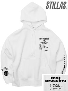 "Stillas x Test Pressing ""Promo Remix"" Big Silhoette Hoodie"