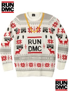 "Run DMC ""Chistmas In Hollis"" Official Sweater"