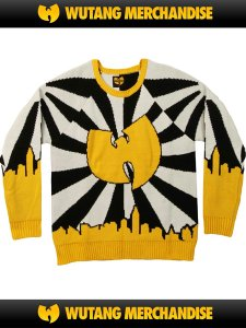 WU-TANG CLAN Official Logo Sweater