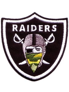 Camo Bandana RAIDERS Patch