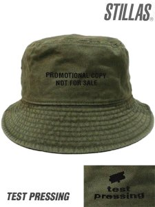 "Stillas x Test Pressing ""NOT FOR SALE"" Bucket Hat"