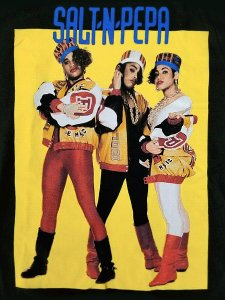 "SALT-N-PEPA ""Yellow Box"" Official T-SHIRT"