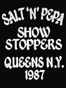 "SALT-N-PEPA ""Show Stoppers"" Official T-SHIRT"