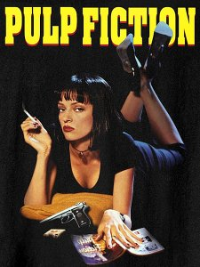 "Pulp Fiction ""MIA"" Official T-Shirt"