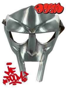 "MF Doom ""Madvillain Gladiator"" Mask"