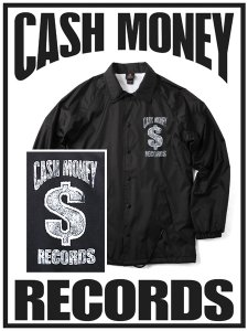 Cash Money Records Official Limited Wind Breaker