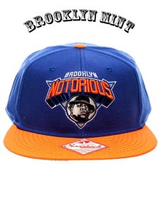 "The Notorious B.I.G. ""NY Nicks Logo"" Snapback Cap"