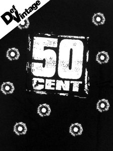 "'03 50 Cent ""9 HOLE GUN SHOT"" Tee"