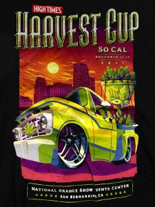 "High Times ""Cannabis Cup Harvest"" T-Shirt"