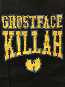 "Ghostface Killah ""Gold Logo""  T-Shirt"