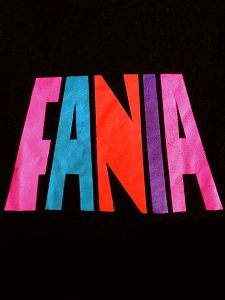 FANIA Records Official Logo T-Shirt
