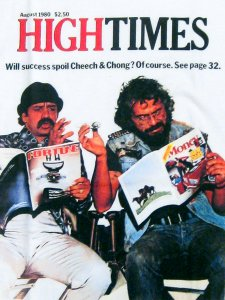 "High Times Magazine ""Cheech & Chong Issue"" T-Shirt"