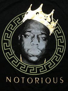 "The Notorious B.I.G. ""Big Gold Crown"" T-Shirt"
