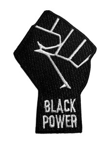 Black Power Patch