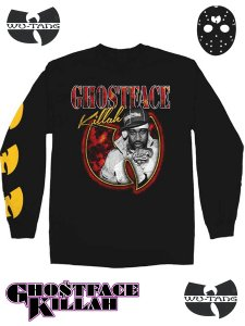 "Ghostface Killah ""Photo Bat Logo""  LS T-Shirt"