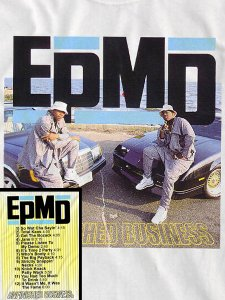 """EPMD """"UNFINISHED BUSINESS"""" Official T-Shirt"""