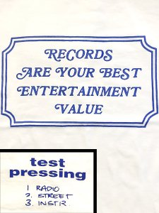 "Stillas x Test Pressing ""Best Entertainment"" T-Shirt"