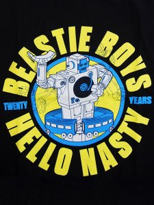 "Beastie Boys ""HELLO NASTY 20 YEARS"" Official T-Shirt"