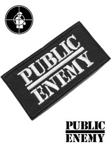 PUBLIC ENEMY Logo Patch