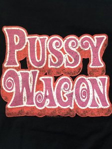 "KILL BILL ""Pussy Wagon"" Official T-Shirt"