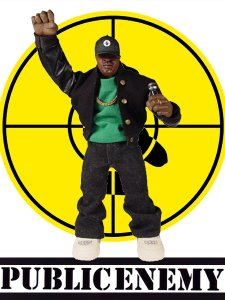 "MEZCO ""PUBLIC ENEMY"" Official Figure / CHUCK D"