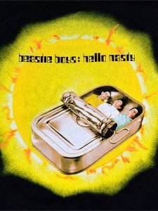 "Beastie Boys ""HELLO NASTY"" Official T-Shirt"