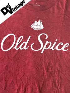 【Def Vintage】 Old Spice Classic Logo  T-Shirt