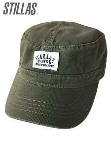 "Grope In The Dark Exclusive ""Stillas - POSSE"" Military Cap"